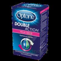 Optone Double Action Solution Oculaire Yeux Secs Fl/10ml à Voiron