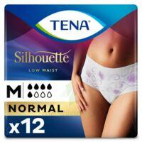 Tena Lady Silhouette Slip Absorbant Blanc Normal Médium Paquet/12 à Voiron