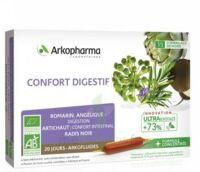 Arkofluide Bio Ultraextract Solution Buvable Confort Digestif 20 Ampoules/10ml à Voiron