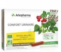 Arkofluide Bio Ultraextract Solution Buvable Confort Urinaire 20 Ampoules/10ml à Voiron