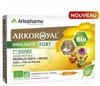 Arkoroyal Immunité Fort Solution Buvable 20 Ampoules/10ml à Voiron