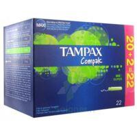 Tampax Compak, Super, Bt 22 à Voiron