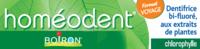 Boiron Homéodent Soin Complet Dents Et Gencives Pâte Dentifrice Chlorophylle Format Voyage T/25ml à Voiron