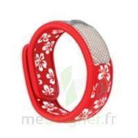 Bracelet Graffic J&t Hawai Rouge à Voiron