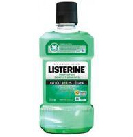 Listerine Protection Dents Gencives Bain Bouche Goût Plus Léger Fl/500ml à Voiron