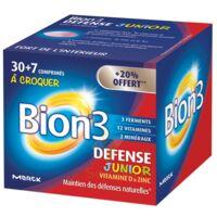 Bion 3 Défense Junior Comprimés à Croquer Framboise B/30+7 à Voiron