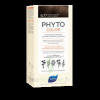Phytocolor Kit Coloration Permanente 6.77 Marron Clair Cappuccino à Voiron