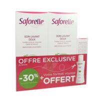 Saforelle Solution Soin Lavant Doux 2*500ml+100ml à Voiron
