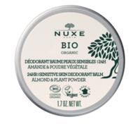 Nuxe Bio Déodorant Baume Fraîcheur 24h Peaux Sensibles Pot/50g à Voiron